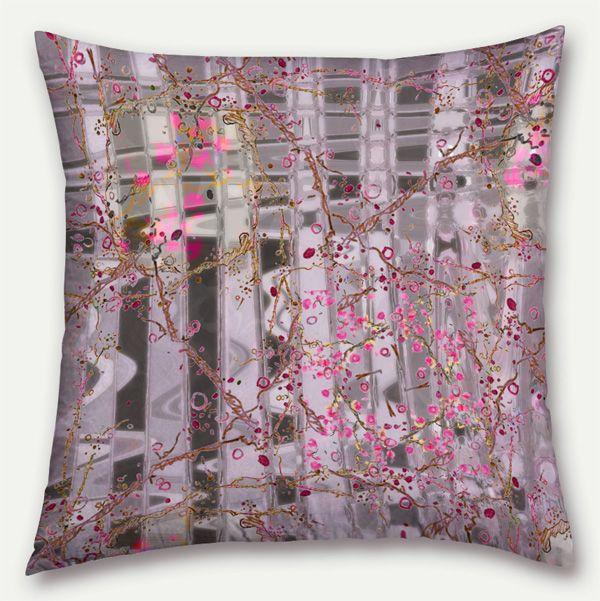 Cherri Jazz Pillow of Tropical Fusion Blog Hop 2014 by © Lisa Rivas