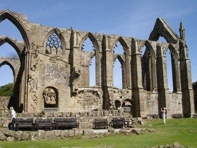 Ruins of Bolton Priory in North Yorkshire - The Dissolution of the Monasteries
