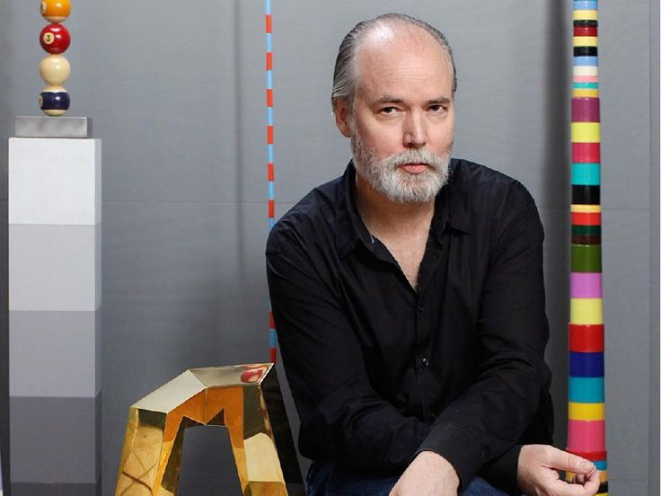 Author Douglas Coupland is shown in a handout photo. Coupland and fashion designer Sunny Fong will be judges in the inaugural Emerging Designer Competition, which is being launched by the Design Exchange, Canada's Design Museum, and Royal Bank of Canada Foundation. The winner gets $10,000.