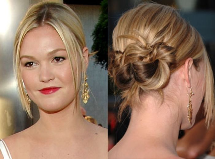 easy to do casual updos for medium hair
