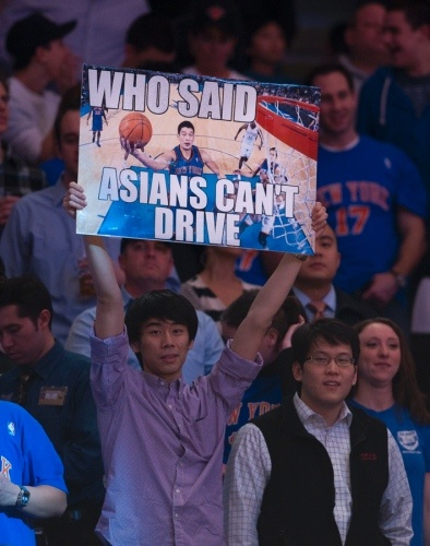 Linsanity - the most outrageous fan signs