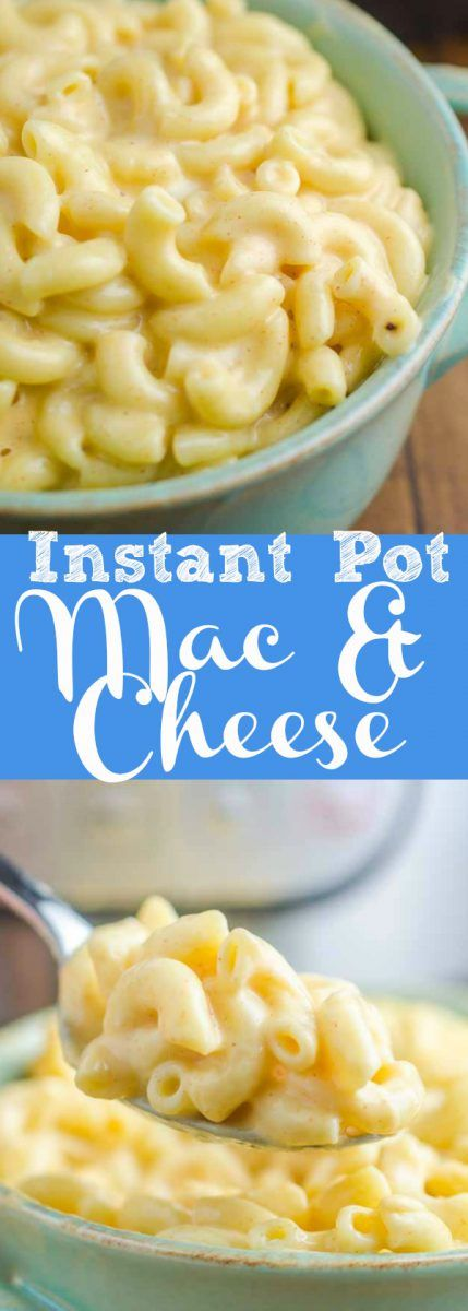 Homemade Mac and cheese has never been creamier or easier! Instant Pot Mac and cheese will be your new favorite way to get your cheesy on.