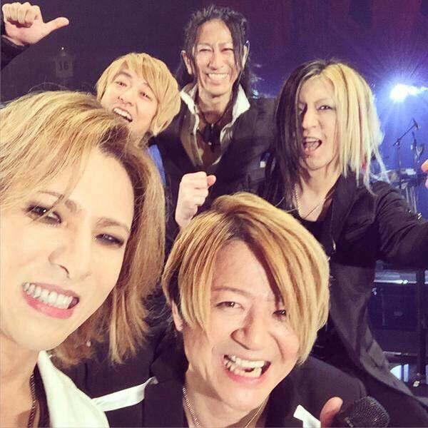 GLAY with yoshiki@tokyodome15