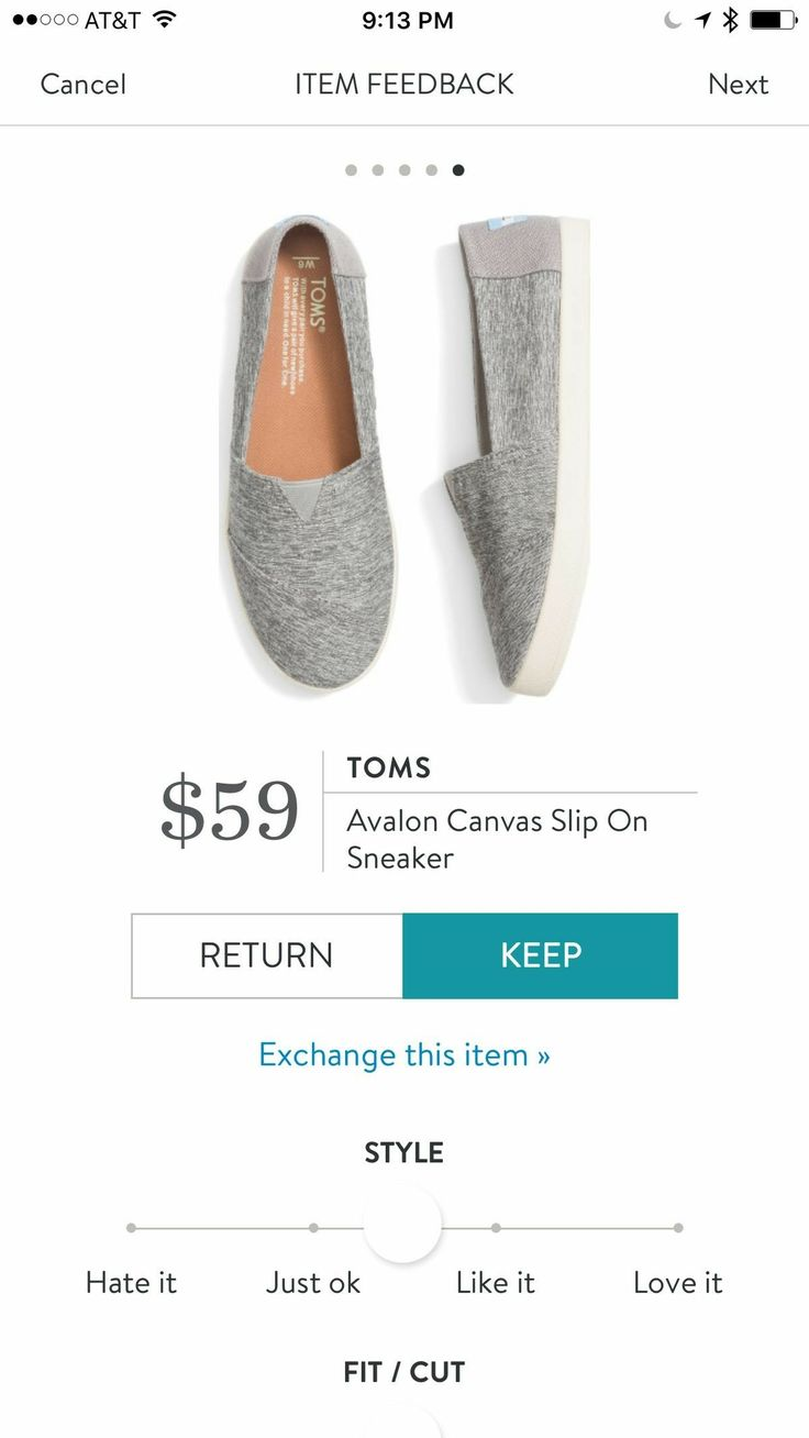 I like thisnrounded toe version of Toms