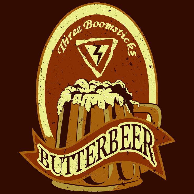 Harry Potter Butterbeer Logo Butterbeer label | Har...