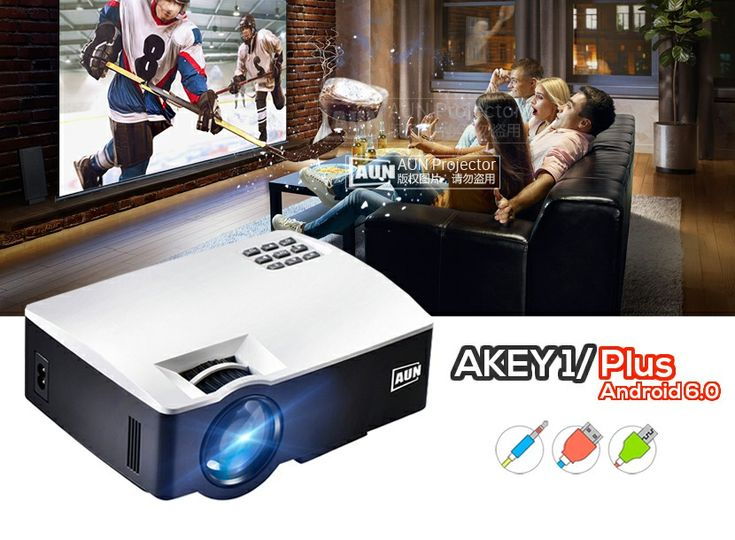 Lux 1080P Full HD Projector For Home Theater