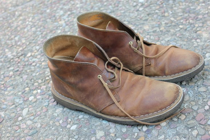 Clark Desert boot-Only get better with age-Best shoes ever.