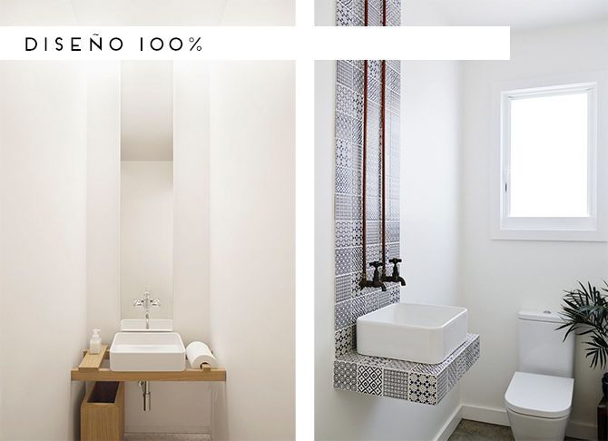 M s de 1000 ideas sobre peque o lavadero en pinterest - Bano de cortesia ...