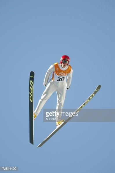 Anders Bardal of Norway competes in the qualifying round of the men's K90 ski jumping event during the Salt Lake City Winter Olympic Games at the...