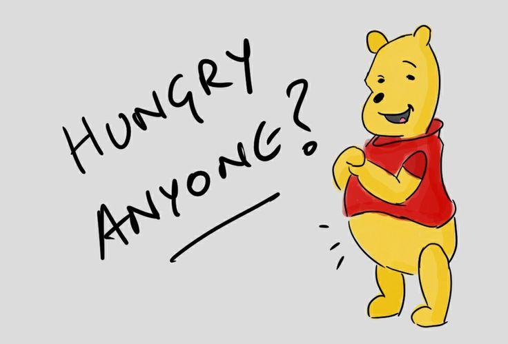 Pooh - Hungry Anyone?