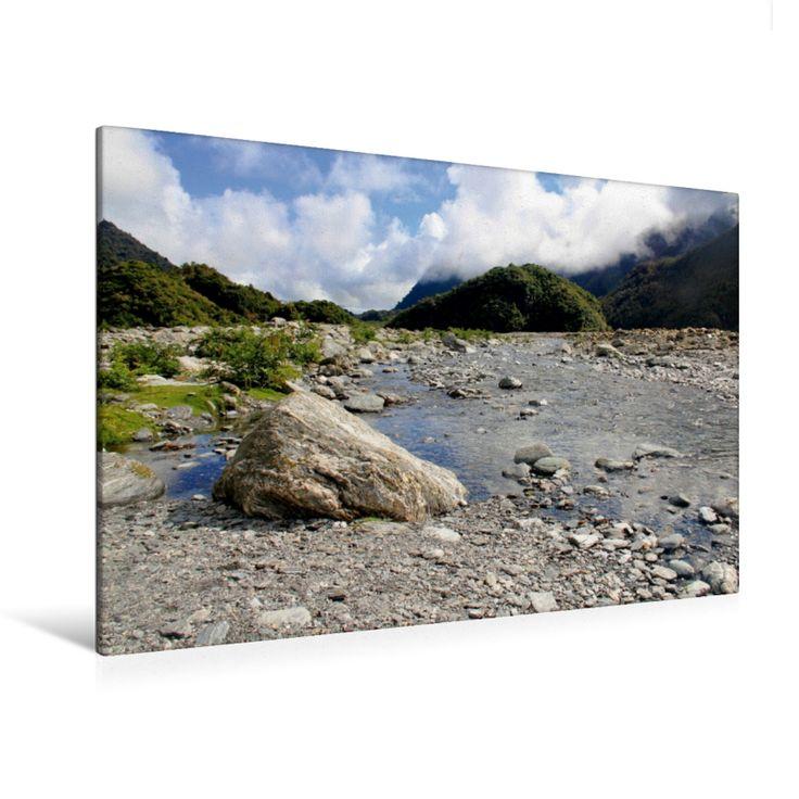 Franz Josef Glacier Walk (Premium Foto-Leinwand 45x30 cm, 50x75 cm, 90x60 cm, 120x80 cm)