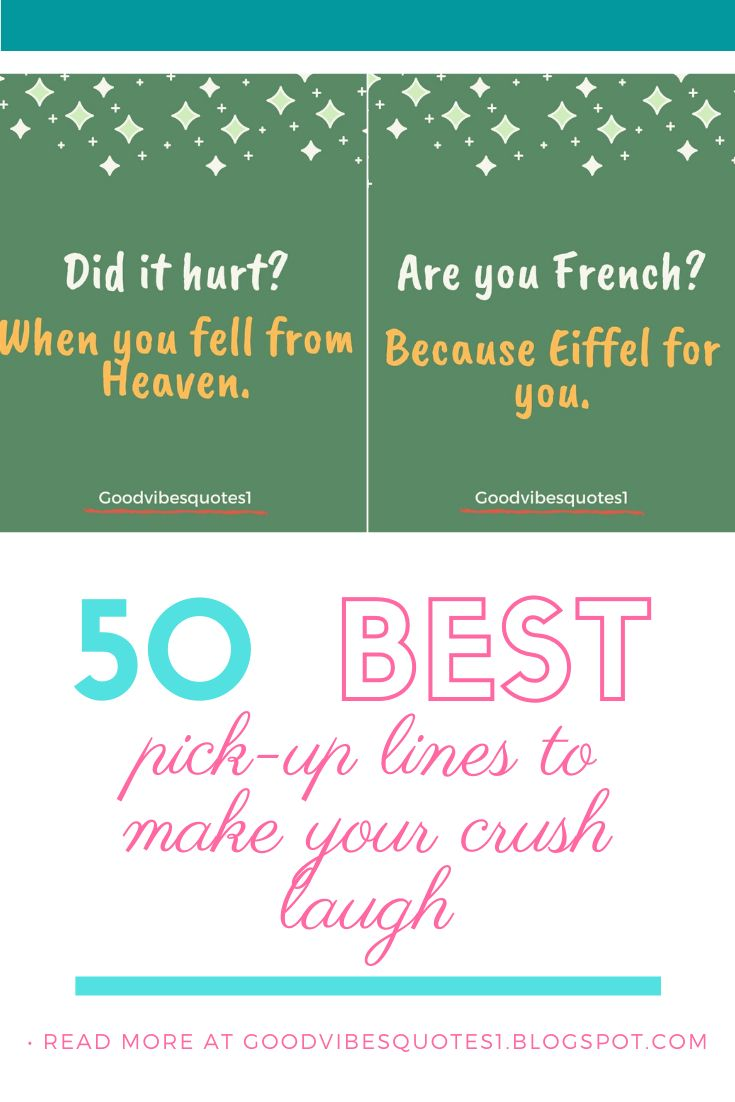 Best Pick-up Lines To Make Your Crush Smile in 2020 | Pick