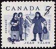 Timbre commémoratif de Jean Talon