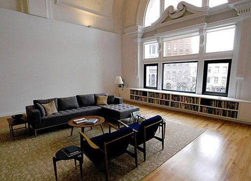 Low Bookshelves Under Windows In 2018 Pinterest Room And Living