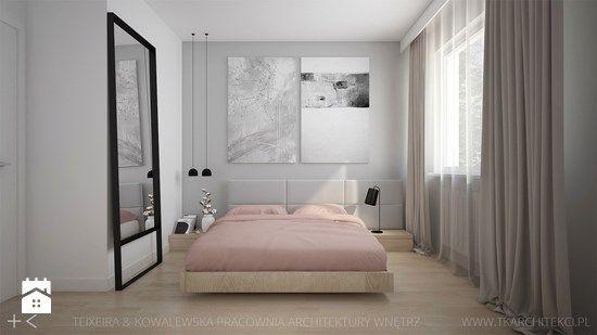 Sypialnia styl Nowoczesny - zdjęcie od TK Architekci
