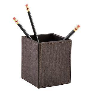 Espresso Parker Pencil Cup