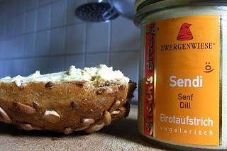 Homeveganer: Brotaufstrich Sendi von Zwergenwiese