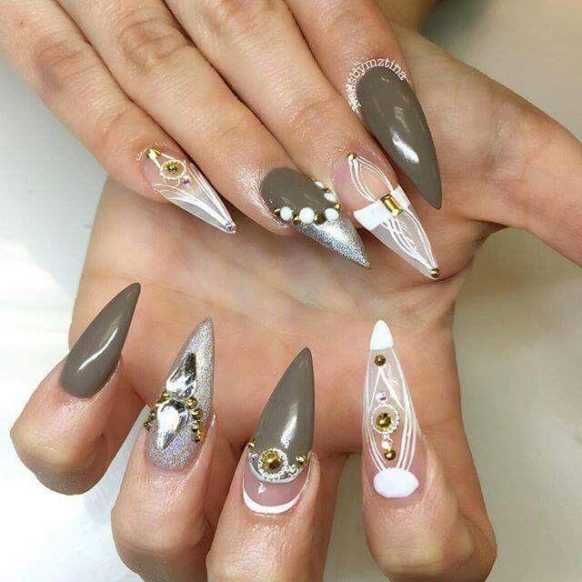 181 mejores imágenes de nails en Pinterest | Uñas negras, Diseño de ...