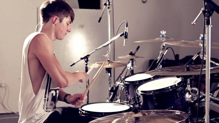 luke holland : skrillex drum remix