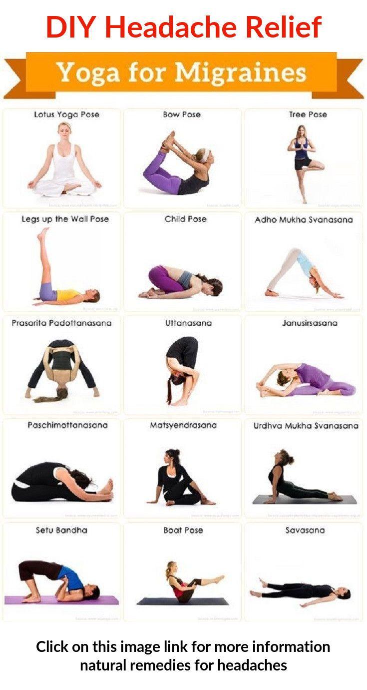 13+ Yoga for migraine pain relief ideas