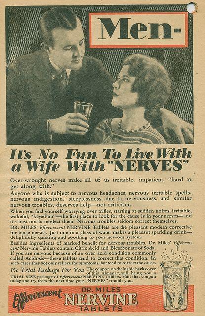 Vintage ad. Really?! >:/