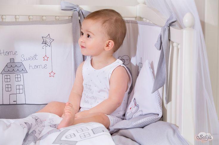 Bawełniana pościel dla dzieci z kolekcji Muffi  www.sofija.com.pl #dziecko #pościel #bawełna #pokójdziecka #kids #kinder #baby #bettwäsche #ребенок #номерребенка