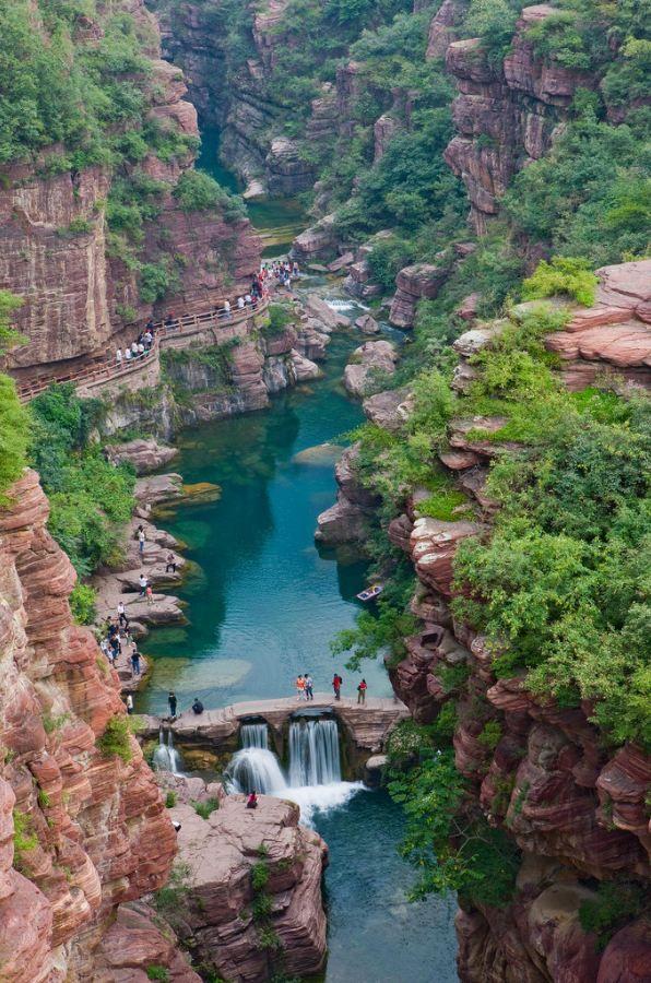 """Hongshi Valley / China (by Visit China). """""""