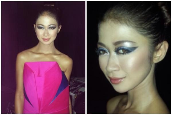 The look for Lenny Agustin collection Paper Garden. Share your thoughts about the make-up ;)