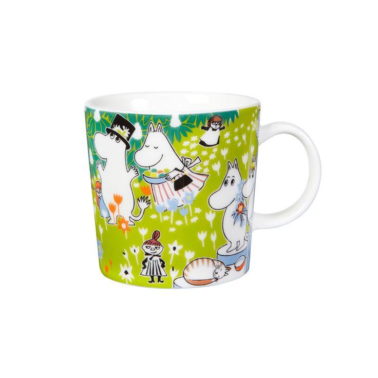 Moomin Tove's Jubilee mug