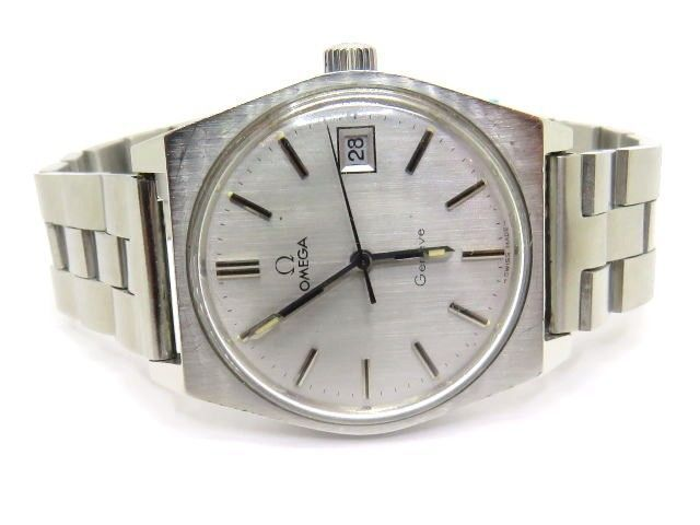 17 best images about pre owned mens watches rose details about vintage omega geneve stainless steel mechanical men used watch