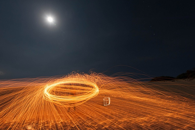 Under the moon by Keith McInnes Photography, via Flickr
