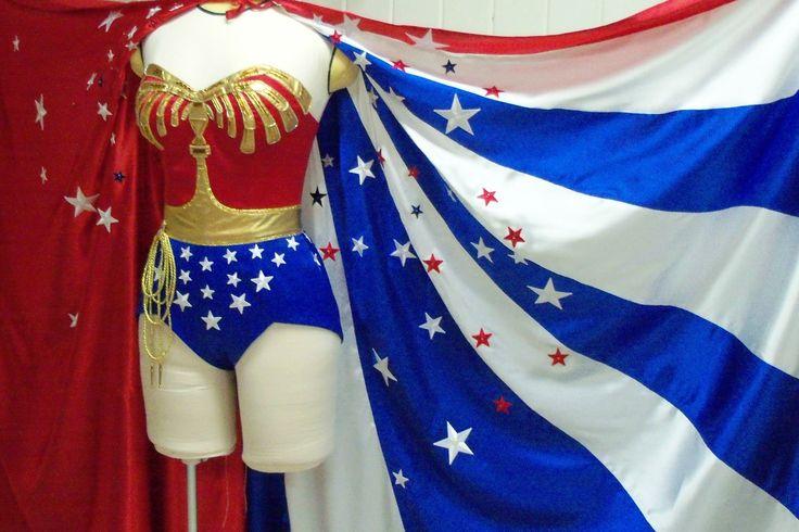 Replica Wonder Woman Costume. $4,500.00, via Etsy.