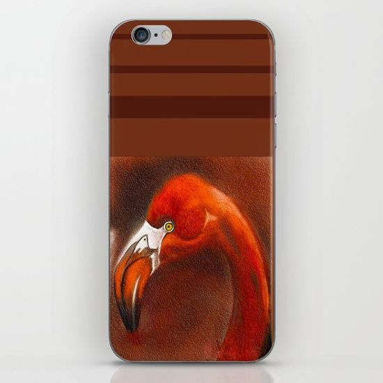 Buy flamingo iPhone & iPod Skin by Jacqueline Schreiber. Worldwide shipping available at Society6.com. Just one of millions of high quality products available.