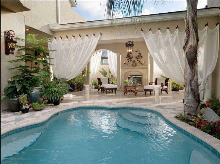Great backyard & pool | BACKYARD DREAMS | Pinterest