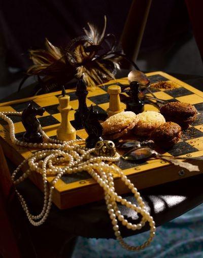 Sweet jam treats & Chess
