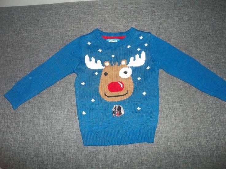 Sweterek #renifer #święta Rozm.104   #Dzieciociuszek #dzieci #sweter #zima #dladzieci #ubranka #ciuszki #zagrosze #wyprawka #mamy #ciocie