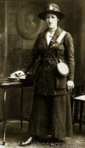 Rose McNamara in Cumann na mBan uniform