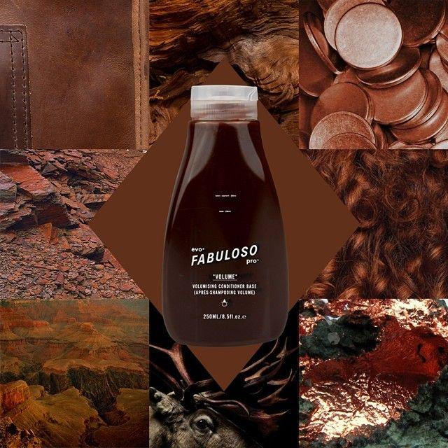 230g conditioner base + 15g chocolate + 5g orange = @evofabuloso pro™ 'burnised bronze'