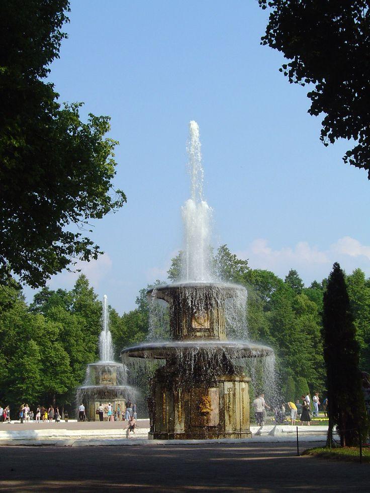 Петергоф римские фонтаны