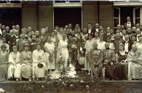 1922 Hochzeit Herzogin Altburg von Oldenburg mit Josias von Waldeck-Pyrmont