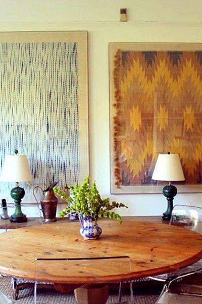 warm, rustic decor!