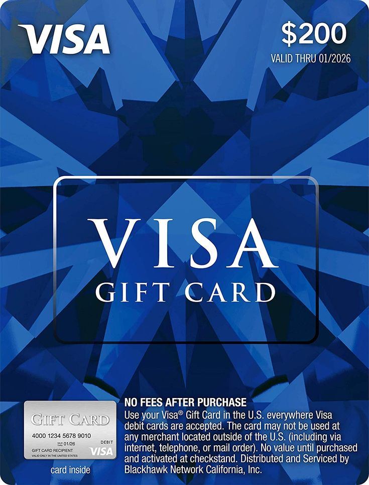 how to use visa gift card online with no name