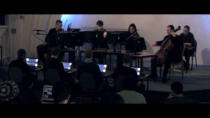 """Activating Memory"" is a performance piece for 8 participants: a string quartet and BCMI quartet. BCMI stands for Brain Computer Music Interface.   The BCMI quartet…"