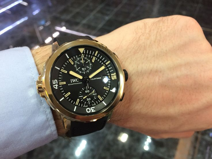 IWC Aquatimer Chronograph Charles Darwin Expedition