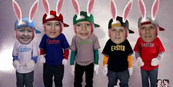 These Personalized JibJab Videos are great. Much better than a typical Easter Card!