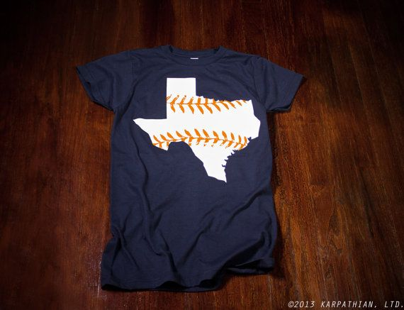Houston Astros Texas baseball Ladies t-shirt Buy Any 3 Shirts Get a 4th FREE on Etsy, $14.99