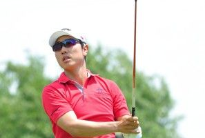 Sang-Moon Bae wins his first PGA Tour event at the 2013 HP Byron Nelson Championship