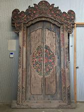 EXTRA LARGE TRADITIONAL BALINESE DOORS & 80 best asian doors windows mirrors images on Pinterest | Asian ... Pezcame.Com