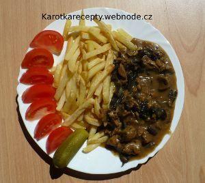 Vegetariánské, veganské recepty - Sojove maso