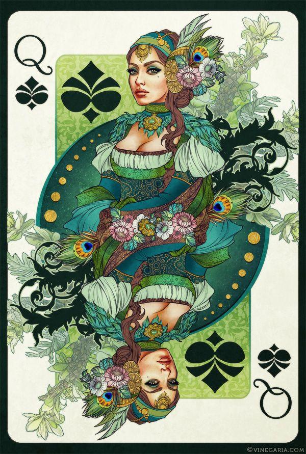 Queen of Spades by vinegar.deviantart.com on @deviantART
